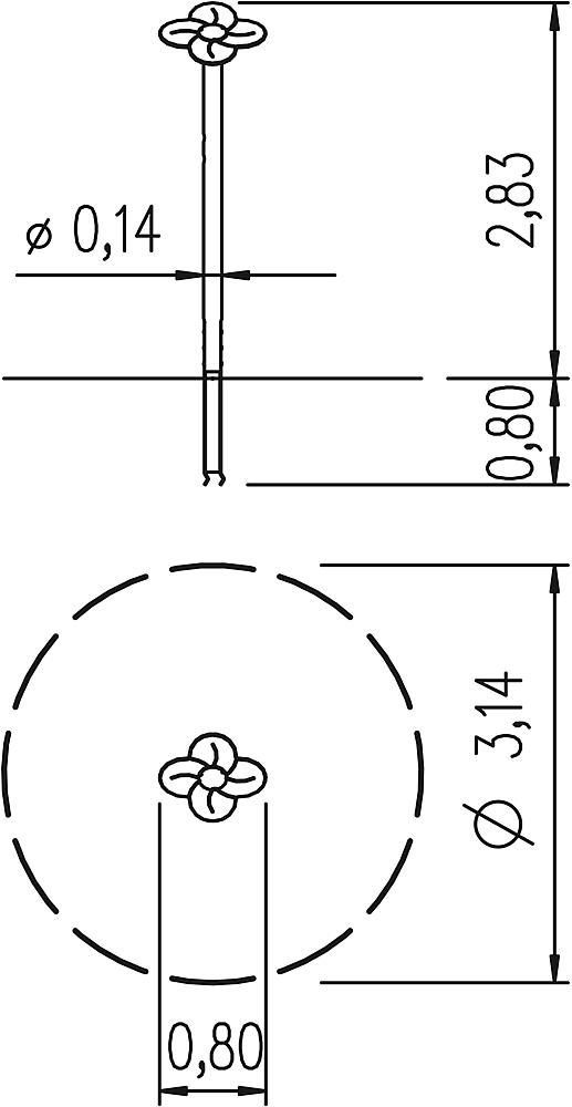 column Flower
