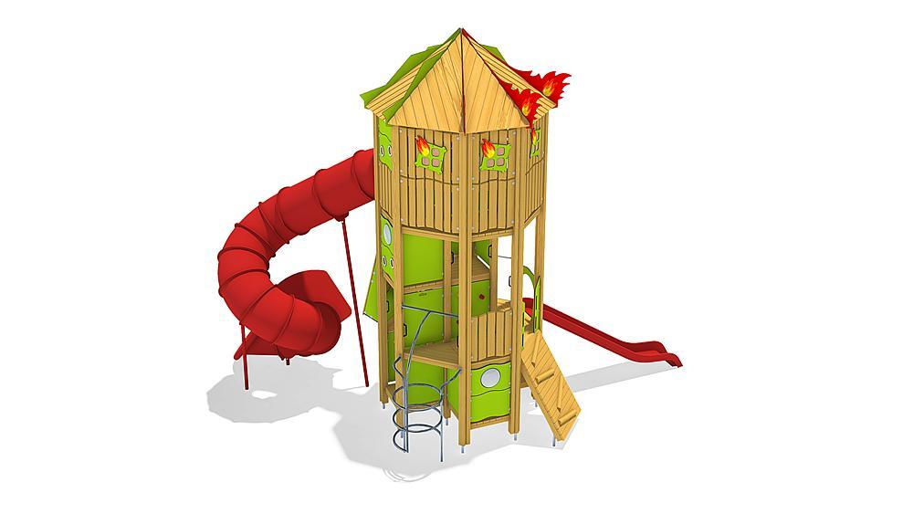fire brigade tower, solo