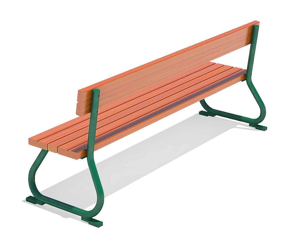 toddler's bench with back rest Sederli mini