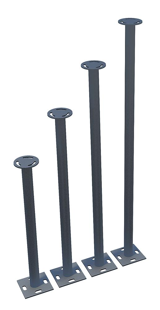 Stainless steel support 20 cm