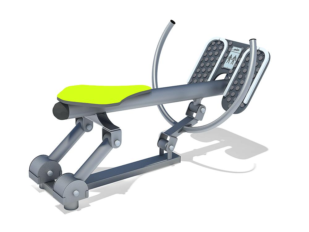 active-station rowing seat
