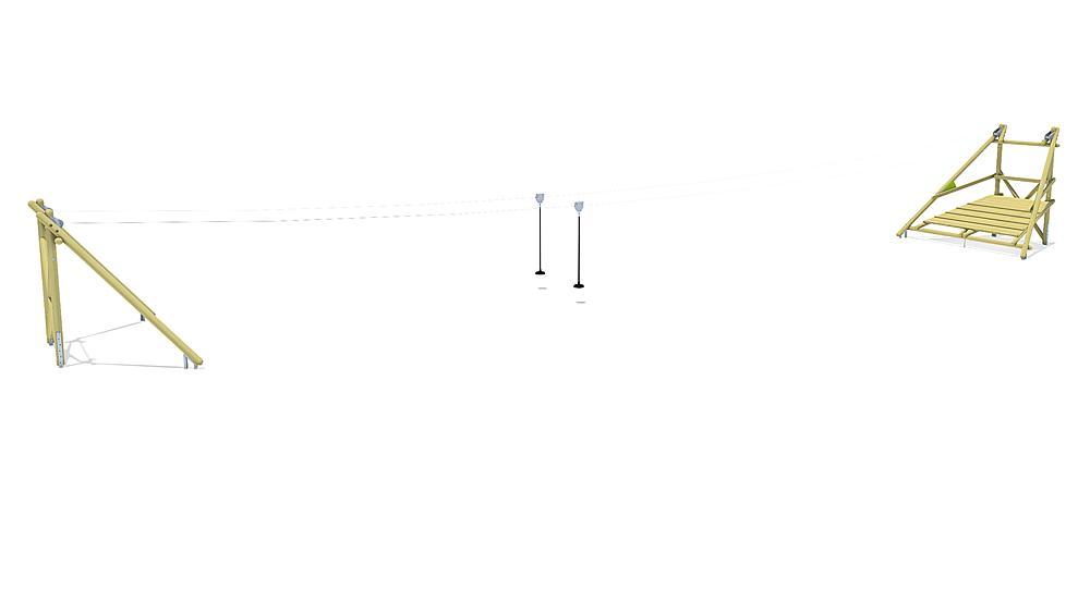 aerial cableway Sierra Duo 30 m