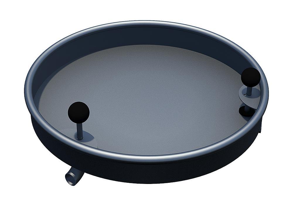 Valve basin 2 valves