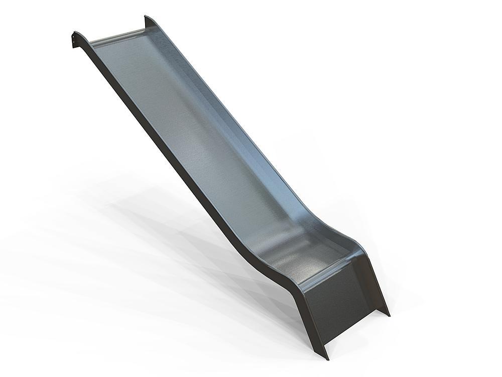 Add-on slide wide stainless steel, ph 195 cm