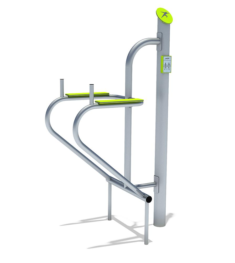 active-station abdominal trainer