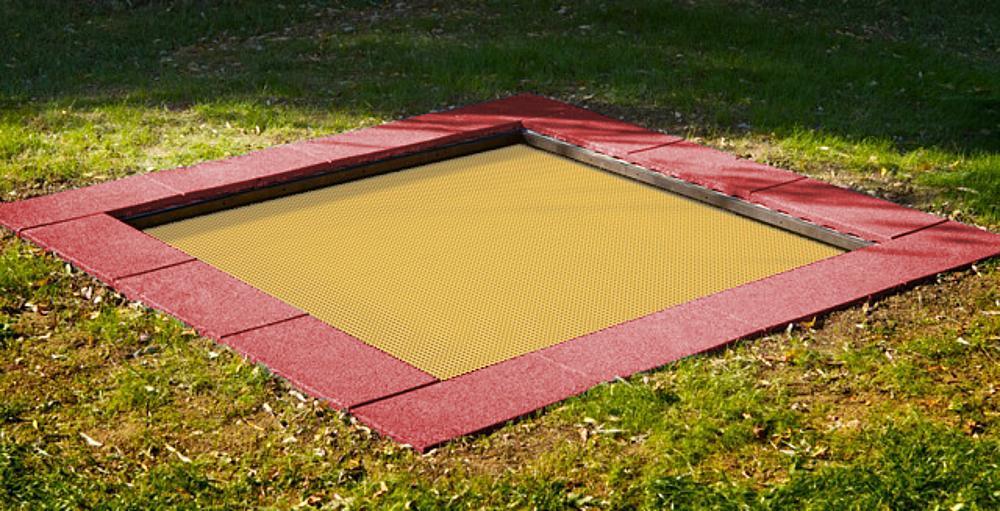Floor trampoline Kids Tramp Kindergarten 200x200 cm