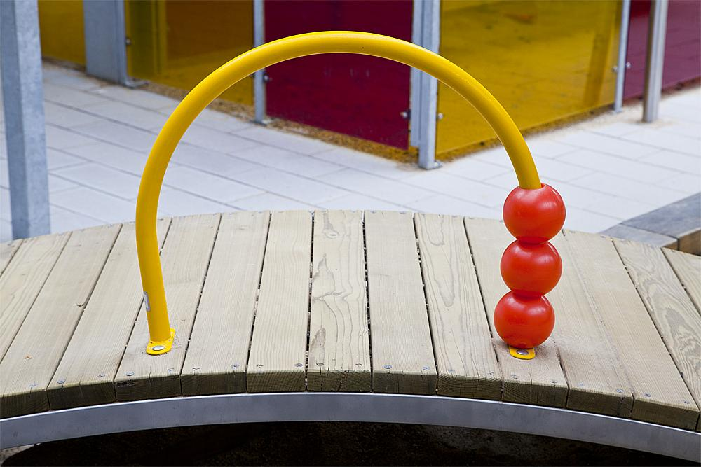 marbles arch for crawling bridge