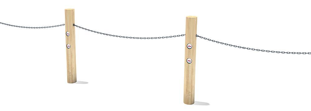 post for rope railing Garvin
